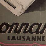 Affiche Chez Bonnard Lausanne1