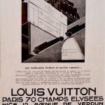 Publicité malle Louis Vuitton 1